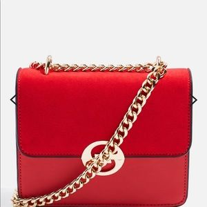 TOP SHOP red crossbody purse NEW without tags.